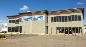 Pat's Auto Supply logo