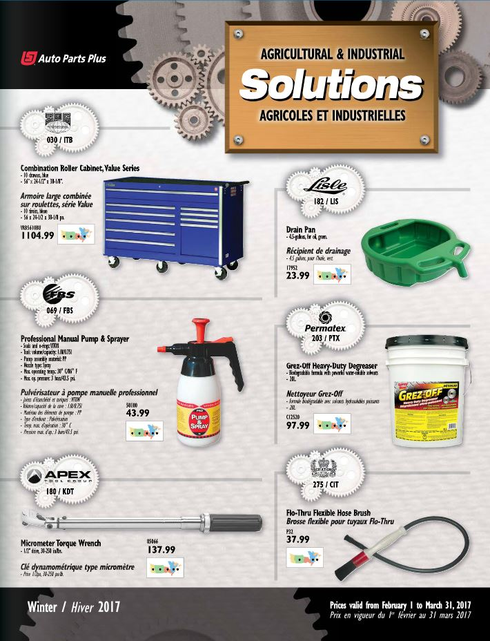 Pat's Auto Supply dealer flyer