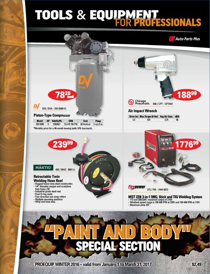 Pat's Auto Supply dealer flyer